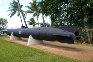 Kaiten Type 4 rear view at USS Bowfin Museum- Pearl harbor